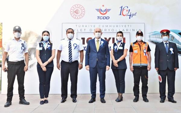 Bakan Karaismailoğlu TCDD'nin 164. kuruluş yıl dönümü etkinliğinde konuştu