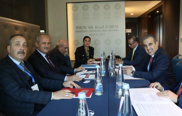 """""""Tiflis İpekyolu Forumu, önemli bir forumdu"""""""