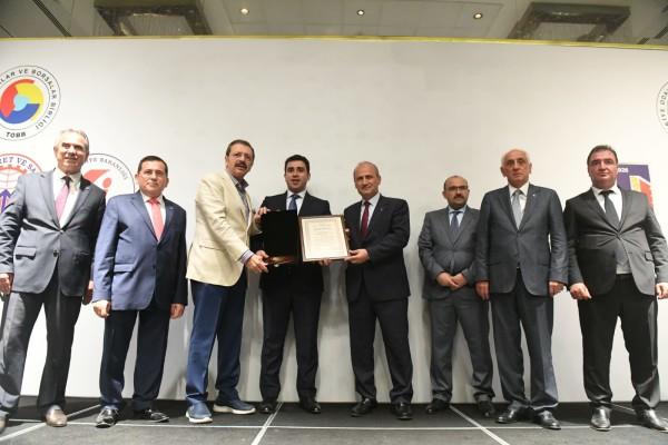 """Trabzon'da """"Ekonomiye Değer Katanlar Ödül Töreni"""""""
